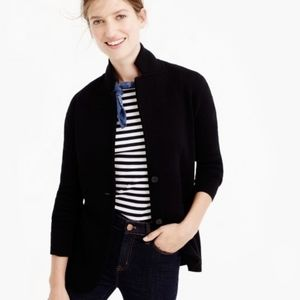 J. Crew NWOT Women 100% Merino Wool Blazer Jacket